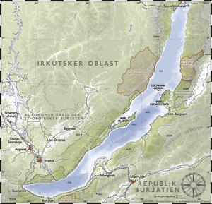 A map of Baikal