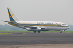 Kartika Airlines Boeing 737-200Adv PK-KAO MES 2006-2-20.png