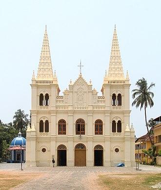 Santa Cruz Cathedral Basilica, Kochi - Image: Kathedralbasilika Santa Cruz 2018 04 04a