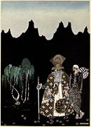 Kay Nielsen - East of the sun and west of the moon - the widows's son.jpg