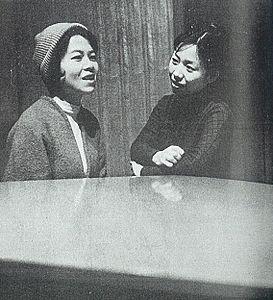 岸田今日子's relation image