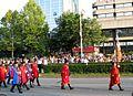 Keglevićeva straža Kostel, Military Parade, Zagreb, 4-8-2015.JPG