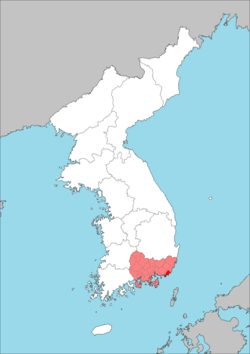 Keishō-nan Prefecture (August 15, 1945).png