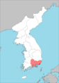 Keishō-nan Prefecture (August 15, 1945).png