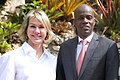 Kelly Craft poses a photo with Haitian President Moise.jpg