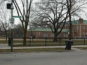 Kelvyn Park - West side of Kelvyn Park.