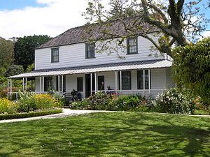 Architecture of New Zealand - Kemp House, Kerikeri