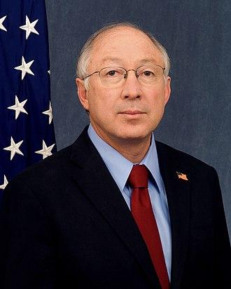 Manassa, Colorado - Secretary of the U. S. Department of the Interior and former U. S. Senator Kenneth L. Salazar, D-Colorado