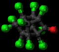 Kepone molecule ball.png
