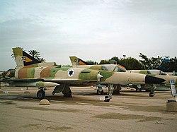 מטוסי כפיר במוזיאון חיל האוויר