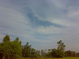 Khejuri I - Typical view of Khejuri rural area