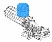Kibo - Experiment Logistics Module (Pressurized Section)