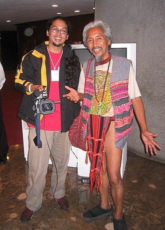 Kidlat Tahimik - Kidlat Tahimik (right) and his son Kidlat de Guia