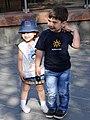 Kids Strike a Pose in Plaza - Gyumri - Armenia (19112686508) (2).jpg