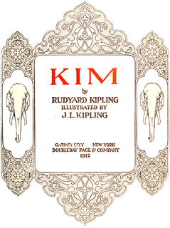 <i>Kim</i> (novel) Picaresque novel by Rudyard Kipling