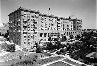King David Hotel - The Hotel in 1931