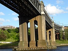 King Edward VII Bridge, Newcastle upon Tyne, July 2015 (05).JPG