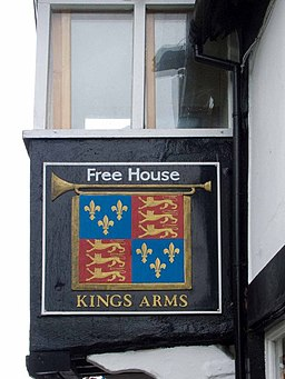 Kings Arms pub sign - geograph.org.uk - 1323833