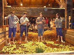 Basque cider - Image: Kirikoketa, Euskal Herria