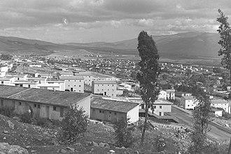 Kiryat Shmona - Kiryat Shmona in 1964