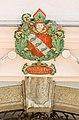 Klagenfurt Innere Stadt Wienergasse 10 Ossiacher Hof Supraporte Wappen 13082018 6156.jpg