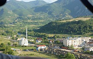 Klos (municipality) Municipality in Dibër, Albania