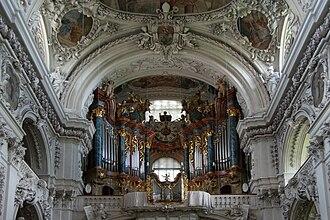 Waldsassen Abbey - Image: Kloster Waldsassen interior 3