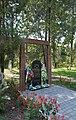 Kobeliaky Shevchenka Str. Centre Memorial Complex Memorial Sign in Honour of Victims of Chornobyl Tradegy 02 2017 (YDS 8424).jpg