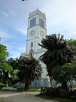 Abaiang - Koinawa cathedral (in 2009)