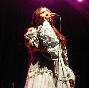 Kokia (singer) - Kokia performing in concert in Paris, 2008.