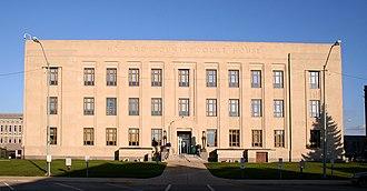 Howard County, Indiana - Image: Kokomo indiana courthouse