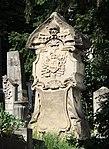 Kolozsvár Házsongárd old gravestone with skull crop.jpg