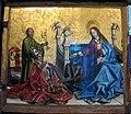 Konrad witz, presentazione del cardinale di metz alla madonna e al bambino, 1444, 01.JPG