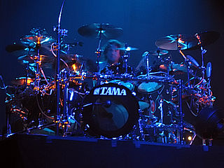 David Silveria Heavy metal drummer, past member of Korn