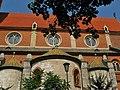 Kraków - kościół klasztorny jezuitów Najświętszego Serca Pana Jezusa.....jpg