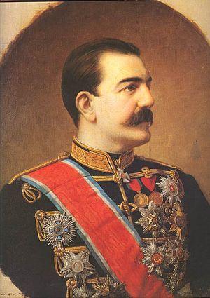 Obrenović dynasty - Image: Kralj Milan Obrenovic