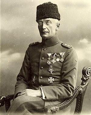 Friedrich Freiherr Kress von Kressenstein - Image: Kress von Kressenstein 1916