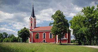 Burglengenfeld - Kreuzbergkirche in Burglengenfeld