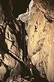 Križna jama Cave Prvo Kittlovo brezno Shaft 1975.jpg