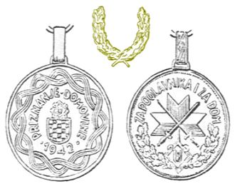 Orders, decorations, and medals of the Independent State of Croatia - Wound Medal