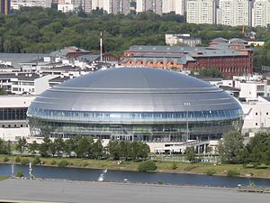 Krylatskoye Sports Palace - Image: Krylatskoe Sport Palace 2010