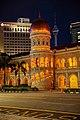 Kuala Lumpur. The Sultan Abdul Samad Building. Towers. 2019-12-01 23-34-23.jpg