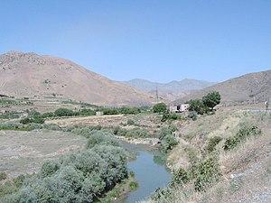 Landschaft im iranischen Kurdistan