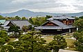 Kyoto Nijo-jo Blick auf den Honmaru-goten-Palast 6.jpg