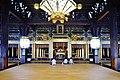 Kyoto Nishi Hongan-ji Gründerhalle Innen 1.jpg