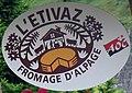 L'Étivaz, street sign, 2010 (cropped).jpg