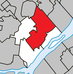 Location within L'Assomption RCM