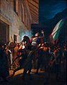 L'eroica morte del Carabiniere a Cavallo Giovanni Battista Scapaccino, Francesco Gonin - Museo Storico dell'Arma dei Carabinieri.jpg