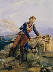 Polski chorąży: Paryż 1814