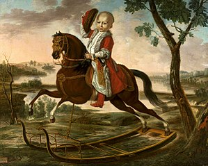 Portrait of Stanisław Potocki (1782-1831).